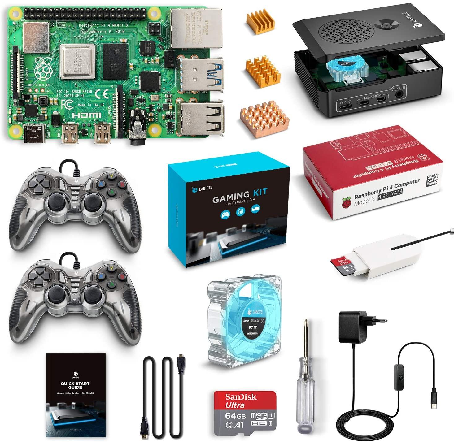 raspberry pi 4 kit gaming