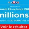 Resultat LOTO 24 octobre 2020 joker+ et codes loto gagnant