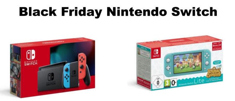 Black Friday Nintendo Switch
