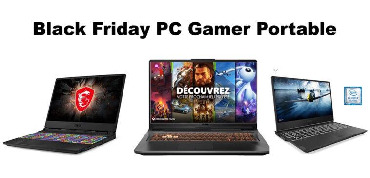 Black Friday PC Portable Gamer promo