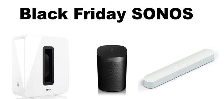 Black Friday Sonos promo