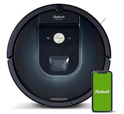 iRobot Roomba 981 promo Black Friday