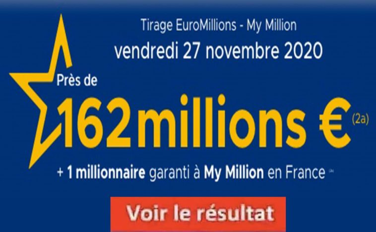 Resultat Euromillions 27 Novembre 2020