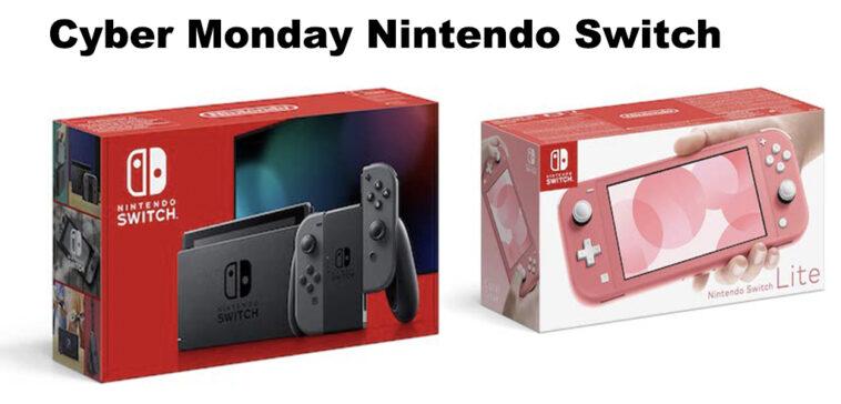 Cyber Monday Switch promo