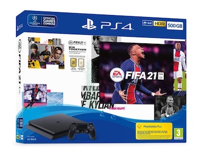 Promo Black Friday pack PS4 FIFA 21