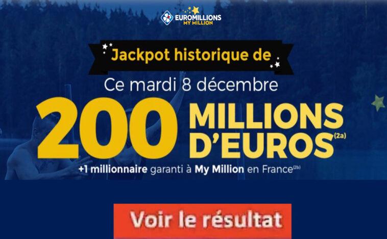 Resultat Euromillion 8 Décembre 2020