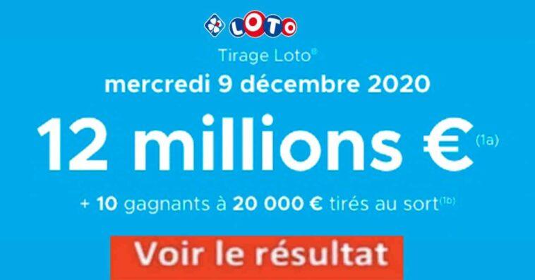 Resultat LOTO 9 Décembre 2020 joker+ et codes loto gagant