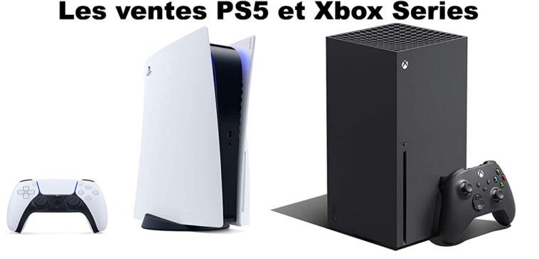 ventes PS5 contre xbox series