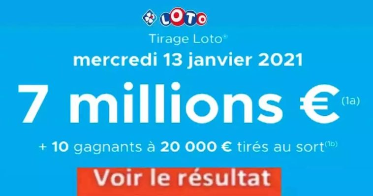 Resultat LOTO 13 Janvier 2021 joker+ et codes loto gagnant
