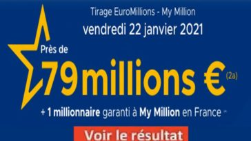 Resultat Euromillion 22 Janvier 2021