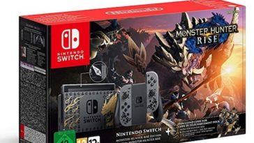 Switch Montser Hunter Rise pas cher