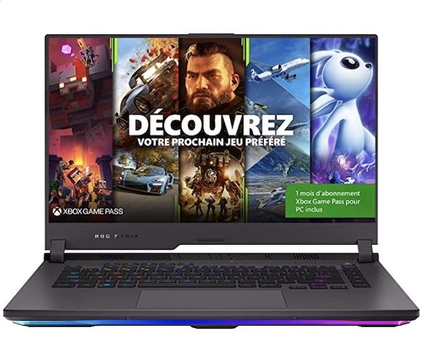 PC Portable Gamer Asus Rog G513QR promo