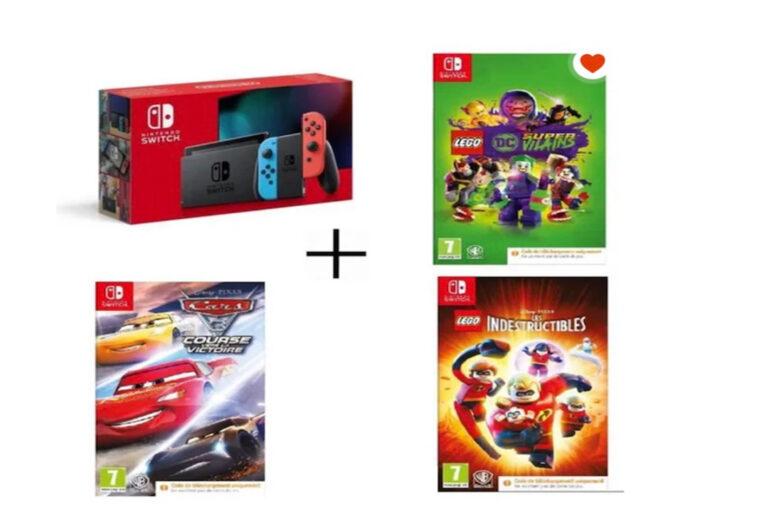 Nintendo Switch Soldes promo